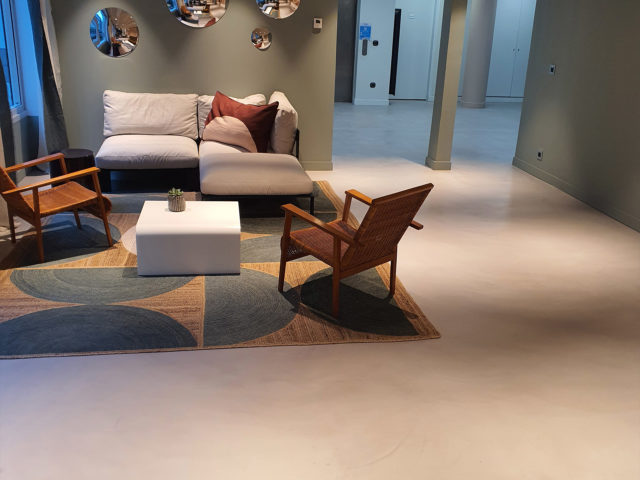 Le béton ciré : revêtement de sol décoratif très tendance!